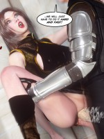 Manga fairy drilled hard in doggy style